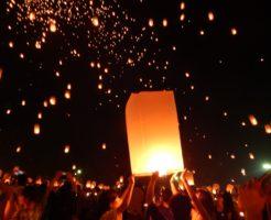 チェンマイのコムローイ祭り