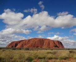 オーストラリアのウルル