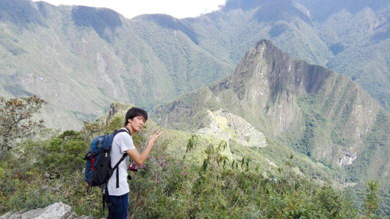 マチュピチュ山の頂上からの絶景の景色と下山方法について!